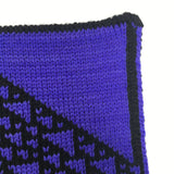 Rule 110 Scarf #163, Elementary Cellular Automata Knit - second