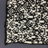 Rule 105 Wrap #21, Elementary Cellular Automata Knit - second