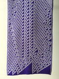 Rule 110 Scarf #107, Elementary Cellular Automata Knit - second