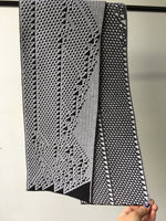 Rule 110 Scarf #116, Elementary Cellular Automata Knit - second