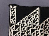 Rule 110 Scarf #120, Elementary Cellular Automata Knit - second