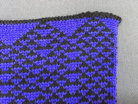 Rule 54 Scarf #37, Elementary Cellular Automata Knit - second