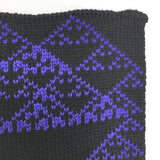 Rule 90 Scarf #418, Elementary Cellular Automata Knit - second