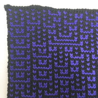 Rule 73 Scarf #262, Elementary Cellular Automata Knit - second