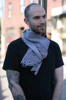 Rule 110 Scarf #437, Elementary Cellular Automata Knit - second