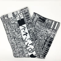 PowerBook 190cs - Black and White Acrylic Scarf