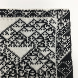 Rule 90 Scarf #789, Elementary Cellular Automata Knit - second - inverted colors