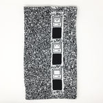 Loading Mac, Macintosh IIfx  - Black and White Acrylic Scarf