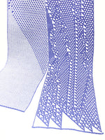 Rule 110 Scarf #103, Elementary Cellular Automata Knit - second