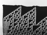 Rule 110 Wrap #12, Elementary Cellular Automata Knit - second