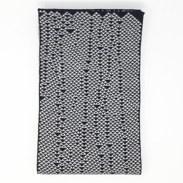 Rule 54 Scarf #03, Elementary Cellular Automata Knit - second