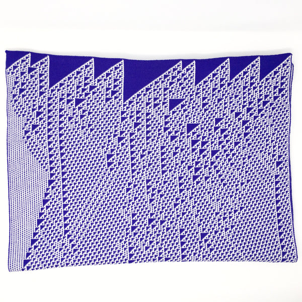 Rule 110 Wrap #19, Elementary Cellular Automata Knit
