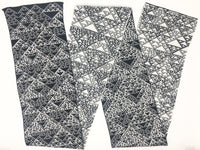 Rule 90 Scarf #679, Elementary Cellular Automata Knit - second