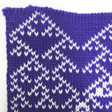 Rule 90 Scarf #661, Elementary Cellular Automata Knit - second