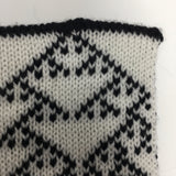 Rule 90 Scarf #812, Elementary Cellular Automata Knit - second