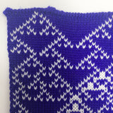 Rule 90 Scarf #662, Elementary Cellular Automata Knit - second
