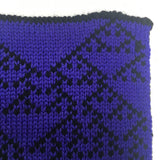 Rule 90 Scarf #393, Elementary Cellular Automata Knit - second