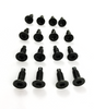 2000 fits Jeep Wrangler Windshield, Door, Tailgate Torx Bolt Screws (16 pieces)
