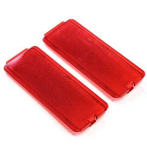 1999 fits Ford Super Duty Interior Door Reflector (Set of 2) F81Z2523820AA, F81Z-2523820-AA