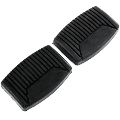 1964-2008 fits Ford F150 F250 F350 Manual Transmission Brake & Clutch Pedal Pad Covers set of 2