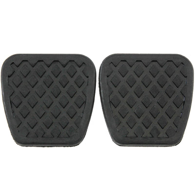1976-2015 fits Honda Manual Transmission Brake Clutch Pedal Pad Cover Replacement set of 2