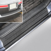2009 fits Honda Accord Sedan 5pc 4 Door Sill Step Protector Bumper Threshold Shield