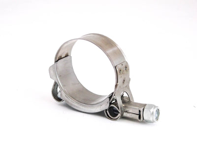 Premium fits 304 Stainless Steel T-Bolt Turbo Silicone Hose Clamp 1.5