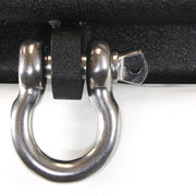 "1 fits Shackle 3/4"" Stainless Steel D Ring Anchor Bow w 7/8"" Pin 316 Grade 4.5 Ton"