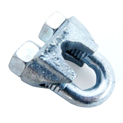 NEW fits Malleable Zinc Wire Rope Cable Clips, 1/4