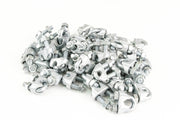 50 fits Galvanized Zinc Plated Wire Rope Clip Clamp Chain 5/16 Inch 9mm m9