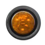 "Amber fits LED 2"" Round Clearance/Side Marker Light Kits with Grommet Truck Trailer RV"