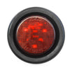 "Red fits LED 2"" Round Clearance/Side Marker Light Kits with Grommet Truck Trailer RV"
