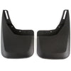 2015 fits Chevy Silverado 1500 Molded Splash Mud Flaps Custom Fit Rear Only 2 Piece Set Pair (NOT GMC SIERRA, Only Chevy)