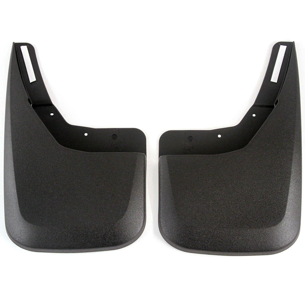 2014 fits Chevy Silverado 1500 Molded Splash Mud Flaps Custom Fit Rear Only 2 Piece Set Pair (NOT GMC SIERRA, Only Chevy)