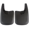 2011 fits Dodge Ram 2500 3500 Molded Splash Custom Fit Mud Flaps - Rear Only 2 Piece Set Pair - Without Flares
