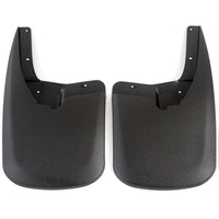 2013 fits Dodge Ram 2500 3500 Molded Splash Custom Fit Mud Flaps - Rear Only 2 Piece Set Pair - Without Flares