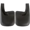 2012 fits Dodge Ram 2500 3500 Molded Splash Custom Fit Mud Flaps - Rear Only 2 piece Set Pair - With Flares