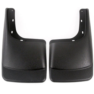 2007 fits Ford F150 (with OEM Fender Flares) Mud Flaps Guards Splash Rear Molded 2pc Set