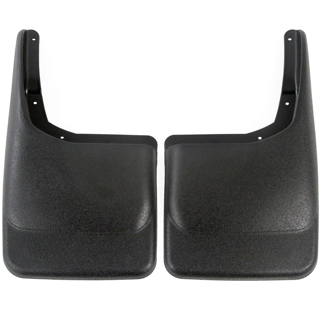 2014 fits Ford F150 Mud Flaps Guards Splash Rear Molded 2pc Set (Without Fender Flares)