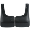 2002 fits Ford Excursion Mud Flaps Guards Splash Front Molded 2pc (Without Fender Flares)