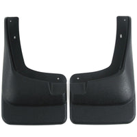 2002 fits F250 F350 F450 Mud Flaps Guards Splash Front Molded 2pc (Without Fender Flares)