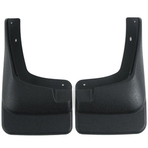 2006 fits F250 F350 F450 Mud Flaps Guards Splash Front Molded 2pc (Without Fender Flares)