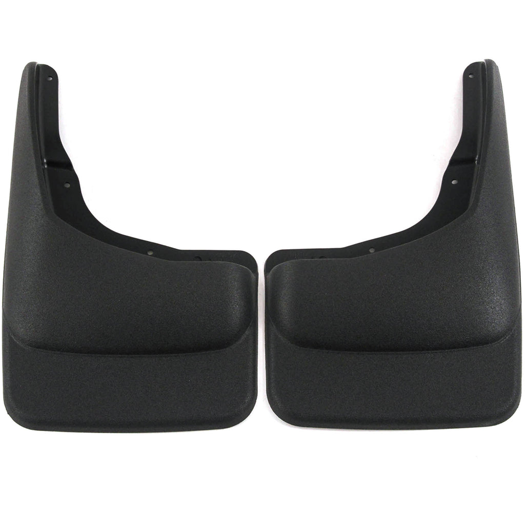 2010 fits Ford F150 Mud Flaps Guards Splash Front Molded 2pc Set (without Fender Flares)