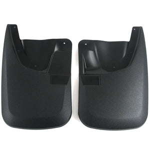 2011 fits Super Duty Mud Flaps Guards Splash Front Molded 2pc Set (without Fender Flares)