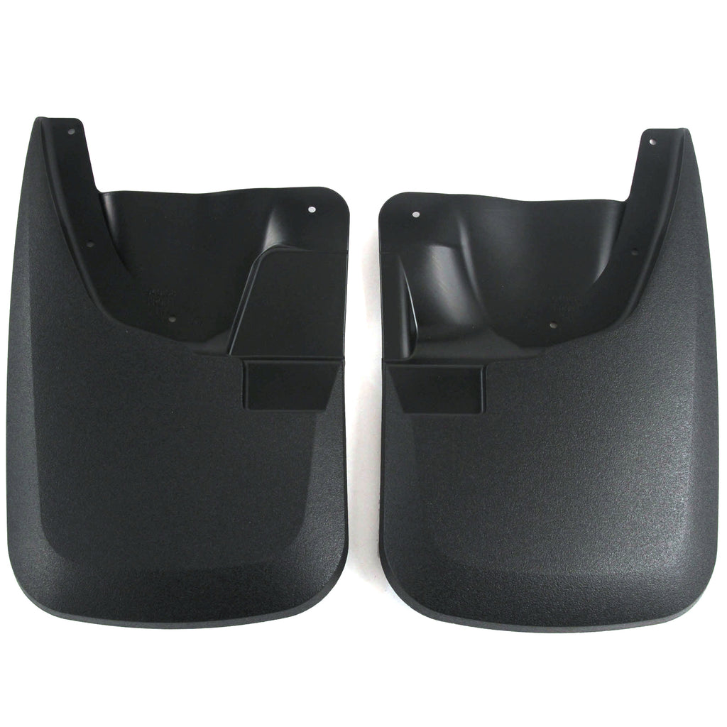 2012 fits Super Duty Mud Flaps Guards Splash Front Molded 2pc Set (without Fender Flares)