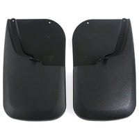 2013 fits Super Duty Mud Flaps Guards Splash Rear Molded 2pc Set (Without Fender Flares)