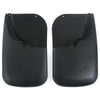 2015 fits Super Duty Mud Flaps Guards Splash Rear Molded 2pc Set (Without Fender Flares)