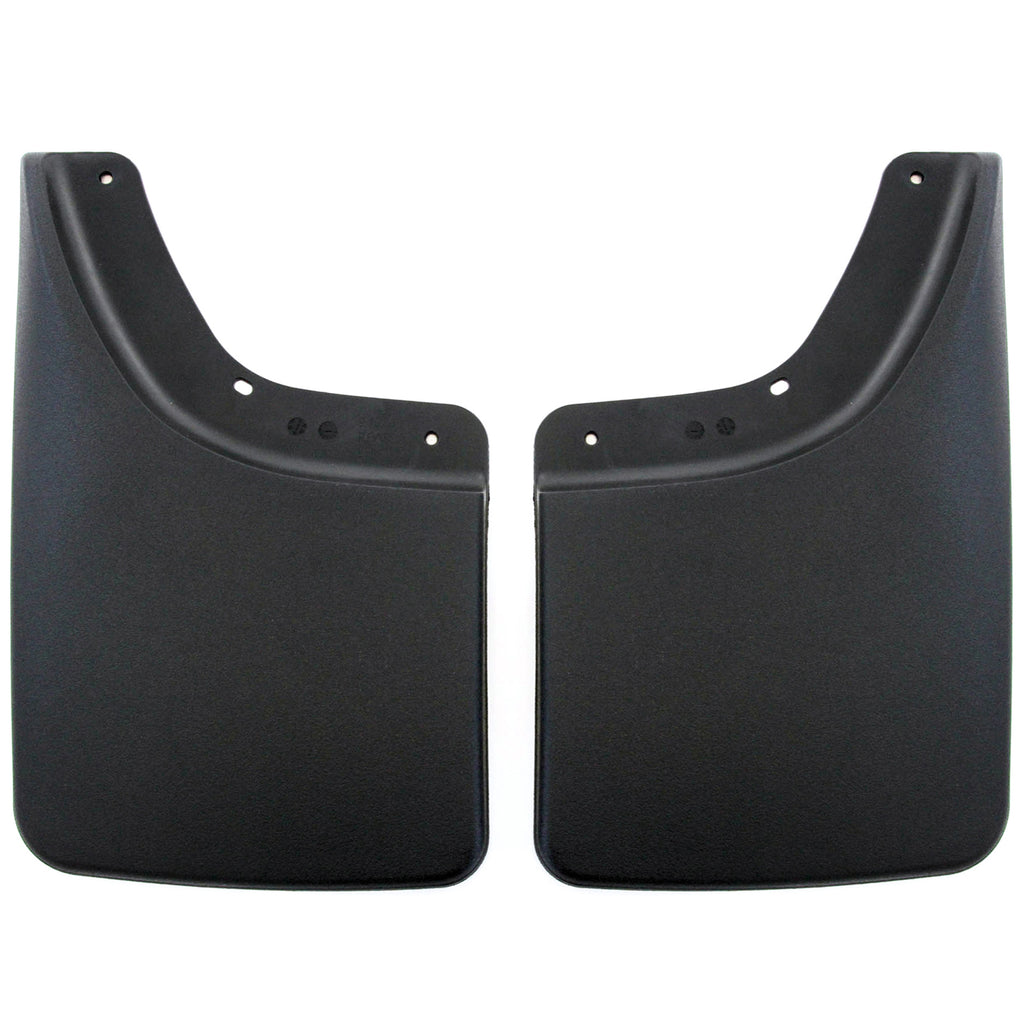 2005 fits Dodge Ram 2500/3500 Mud Flaps Guards Splash No Flares Rear Molded 2pc Set