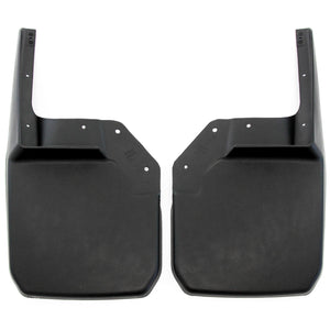 2011 fits Jeep Wrangler JK JKU Mud Flaps Guards Splash Flares Front Molded 2pc