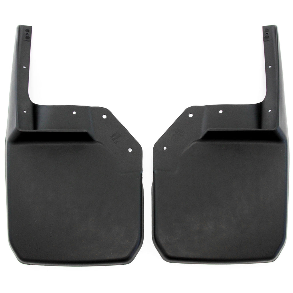 2007 fits Jeep Wrangler JK JKU Mud Flaps Guards Splash Flares Front Molded 2pc